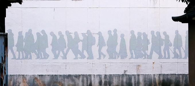 国本泰英 くにもとやすひでの壁画