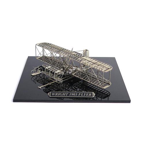AEROBASE エアロベース/マイクロウィングシリーズ 「Wright 1903 Flyer ライト1903フライヤー 洋白版」(B101)