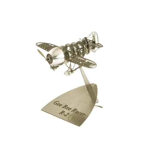 AEROBASE エアロベース/マイクロウィングシリーズ 「Gee Bee R-2 ジービーレーサーR-2 洋白版」(B103)