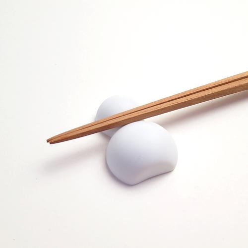 Celamic Japan セラミックジャパン/箸置き「おきだるま」2個セット(ビスク 無釉)