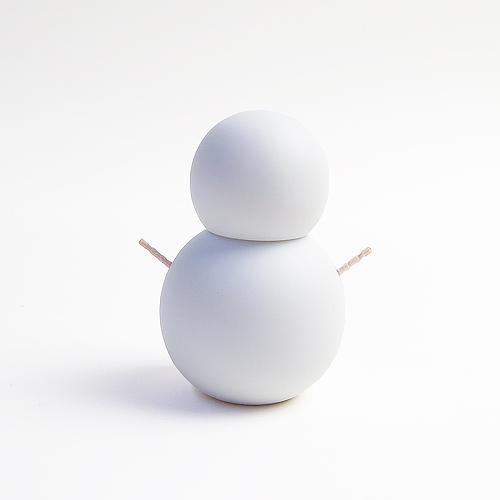 Ceramic Japan セラミックジャパン/楊枝入れ「楊枝だるま」(ビスク 無釉)
