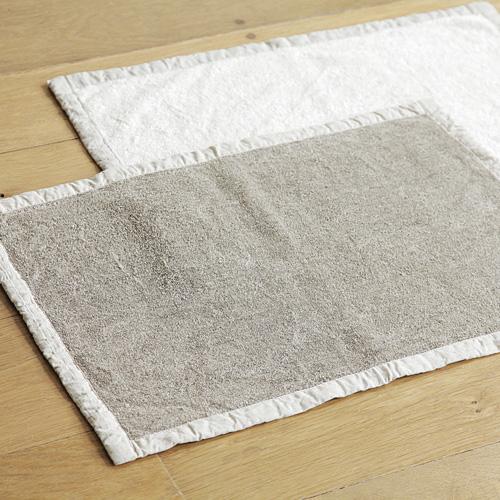 fog linen work フォグ リネンワーク/リネンマッサージバスマット(2種)