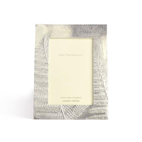 LANCASTER&GIBBINGS ランカスターアンドギビングス/フォトフレーム「Ferns」6×4インチ