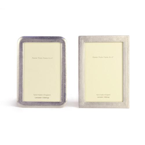 LANCASTER&GIBBINGS ランカスターアンドギビングス/フォトフレーム「Curve/Furrows」6×4インチ(2種)