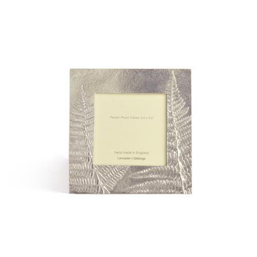 LANCASTER&GIBBINGS ランカスターアンドギビングス/フォトフレーム「Ferns」3.5×3.5インチ