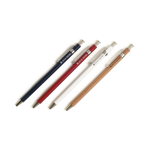 「+S」プラスエス/木軸ボールペン Long(4色)