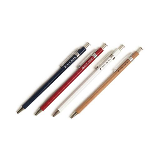 +S プラスエス/木軸ボールペン Long(4色)