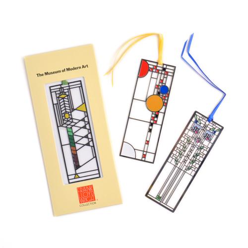 MoMA モマ/「Frank Lloyd Wright フランク・ロイド・ライト」Bookmark しおり(3種)