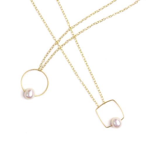 Melissa McArthur Jewellery メリッサ マッカーサー ジュエリー/淡水パール ネックレス(2種)