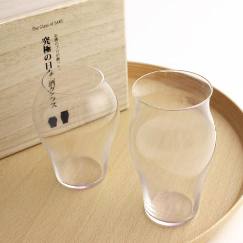 お酒のプロが創った 究極の日本酒グラス 「花」「蕾」セット
