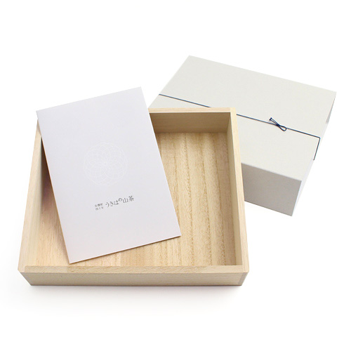 うきはの山茶/ギフト用桐箱(3本用)