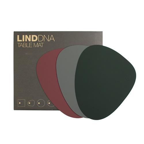 LIND DNA/TABLEMAT CURVE テーブルマットS(SOFTBUCK 3色)
