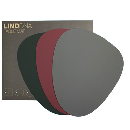 LIND DNA/TABLEMAT CURVE テーブルマットL(SOFTBUCK 3色)