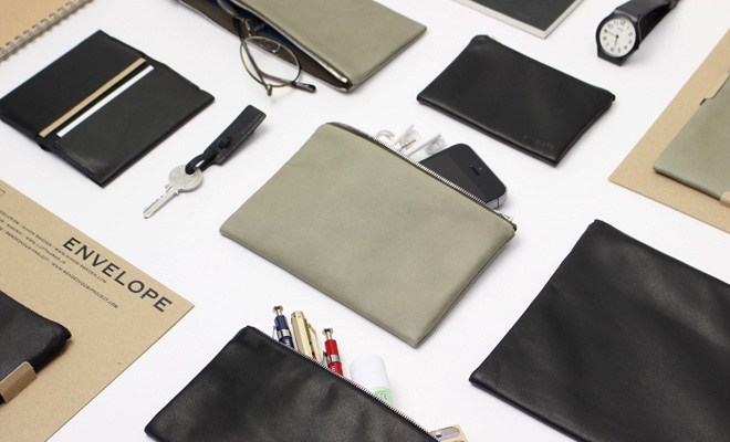 ENVELOPE エンベロープ/CASE SMALL ケース スモール(2色)/ケース「スモール」とその他商品のイメージ画像