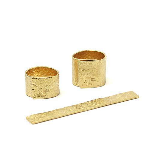 NAGAE+ ナガエプリュス/TIN BREATH Ring ティンブレス リング ゴールド(2種)