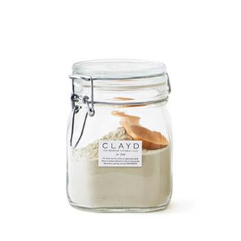 CLAYD クレイド/入浴剤・マスク「CANISTER SET キャニスターセット」400g