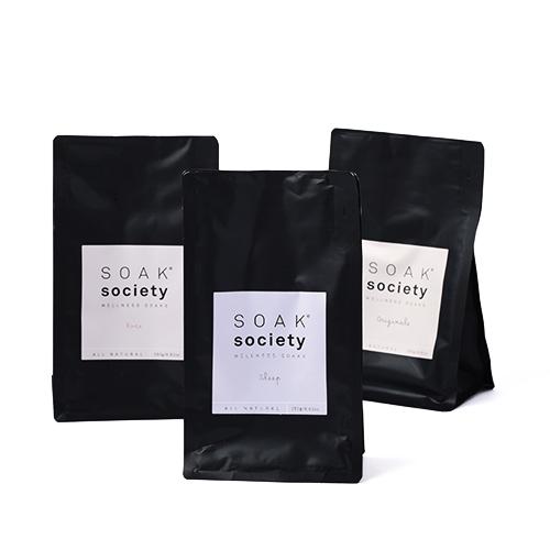 SOAK society ソークソサエティ/バスソーク レギュラーサイズ250g(4種)