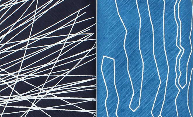 KOTONOWA コトノワ/風呂敷 UNQUI DESIGNERS 100×100(2種)/風呂敷 100×100cm(2種)が並んだ画像