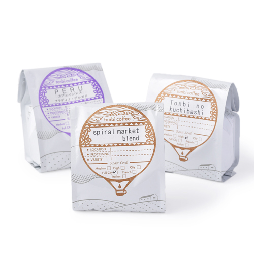 tonbi coffee トンビコーヒー/コーヒー豆・粉(5種)