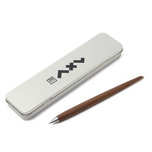 axel weinbrecht design アクセル ヴァインブレヒト デザイン/「beta,curve ベータ・カーブ」メタルペン 金属鉛筆(2色)
