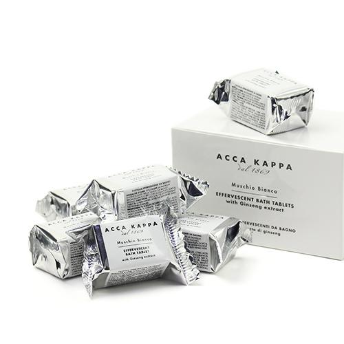 ACCA KAPPA アッカカッパ/ホワイトモス バスタブレット(28g×6)