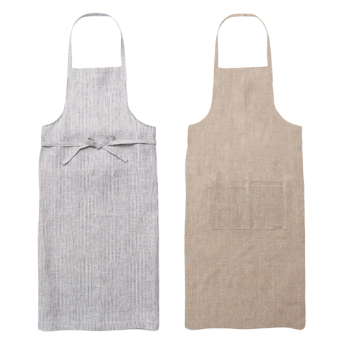 fog linen work フォグ リネンワーク/リネンフルエプロン(2種)