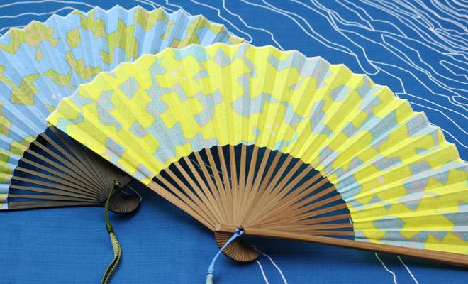 華市松 はないちまつ 祝い文扇子 ひびのこづえ 風車が並んだ画像