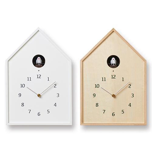 Lemnos レムノス/「Birdhouse Clock」カッコー時計(NY-16-12/2色)