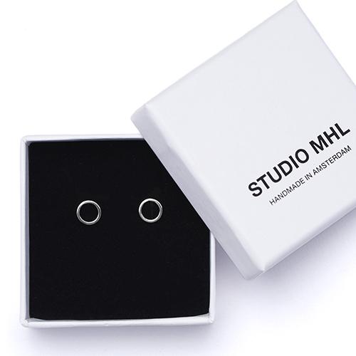 STUDIO MHL/オープンラウンドピアス(2種)