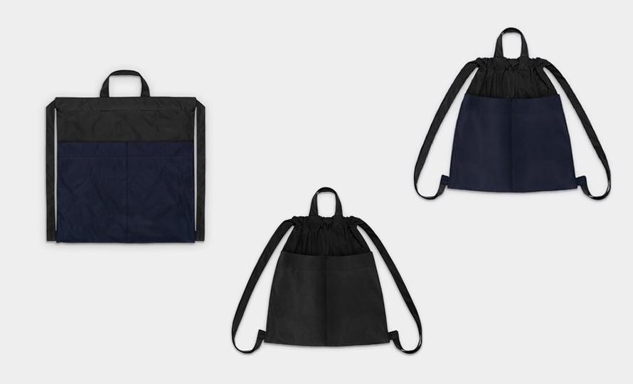 formuniform フォームユニフォーム/Drawstring backpack バックパック Mのイメージ画像