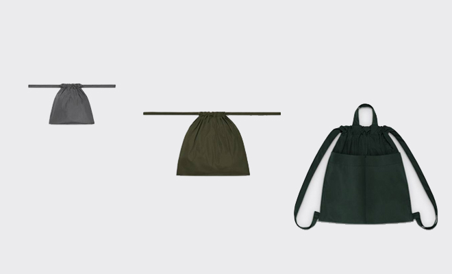 formuniform フォームユニフォーム drawstring bag バッグ Sの画像