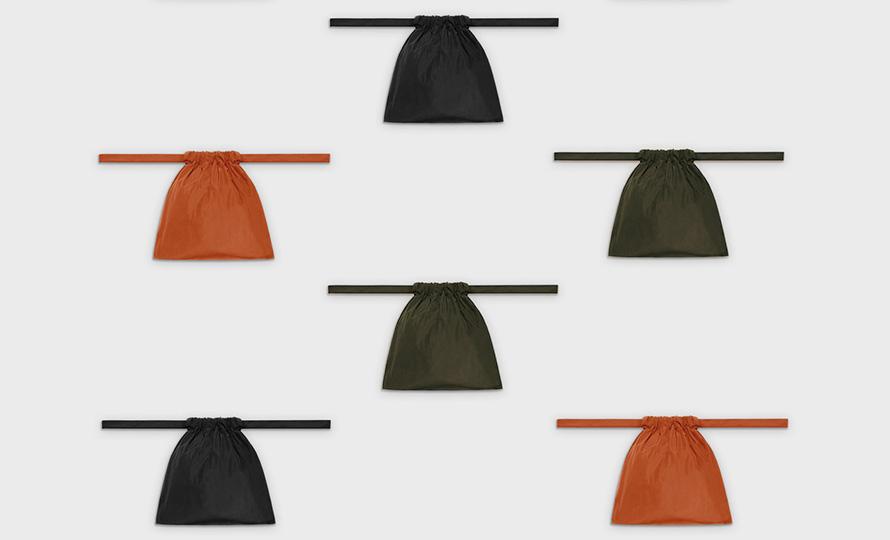 formuniform フォームユニフォーム/Drawstring bag 巾着バッグ XSのイメージ画像