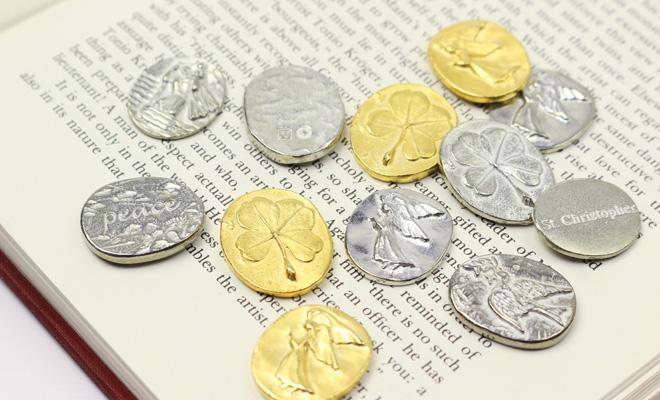 Vilmain ヴィルメイン ポケットコイン5種が並んだ画像
