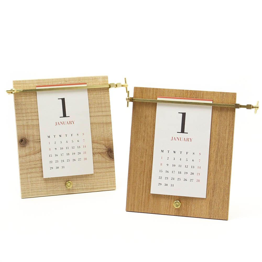 2019カレンダー/MUCU ムク 「CLAMP CALENDAR」クランプカレンダー(2種)