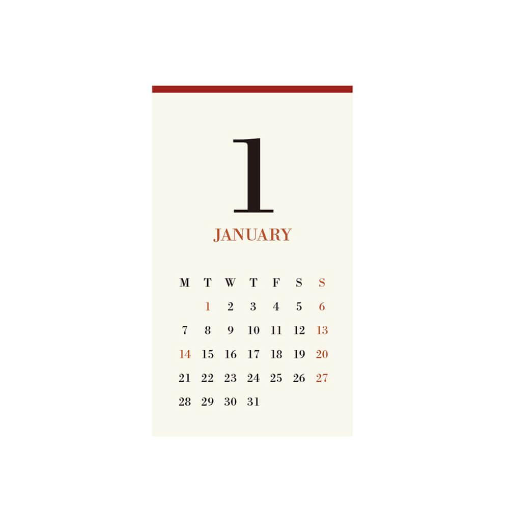 2019カレンダー/MUCU ムク 「CLAMP CALENDAR」専用リフィル