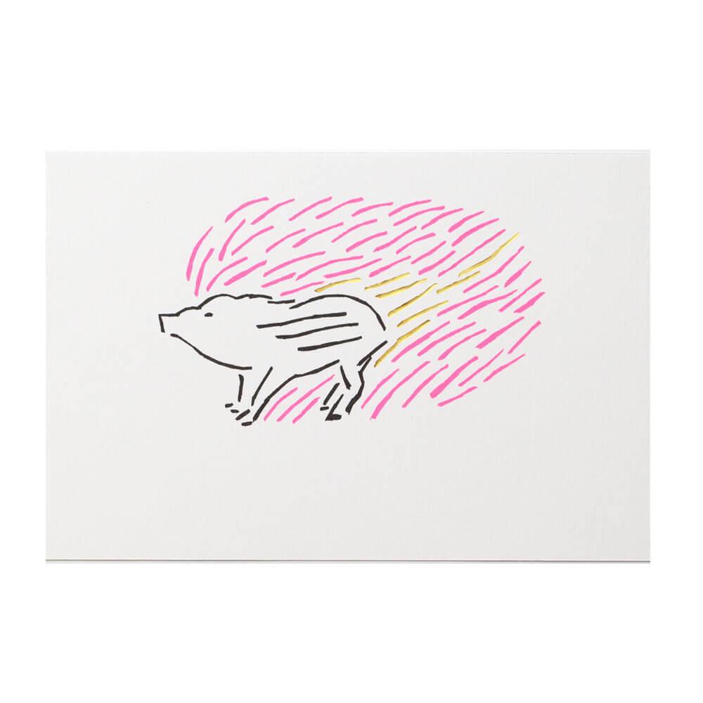 うりぼう ピンク