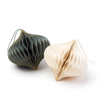 only natural/Honeycomb Ornament ハニカムオーナメント(2色)