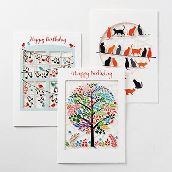 Forever Handmade Cards フォーエバーハンドメイドカード/グリーティングカード(5種)
