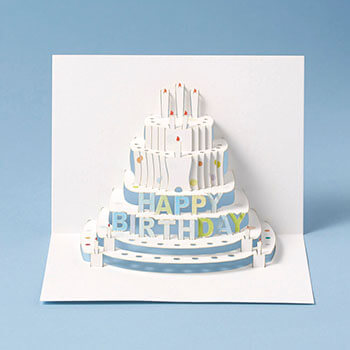 Forever Handmade Cards フォーエバーハンドメイドカード/ポップアップカード「Happy Birthday」