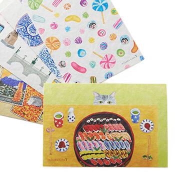 misako naka+S ナカミサコ/ポストカード(8種)