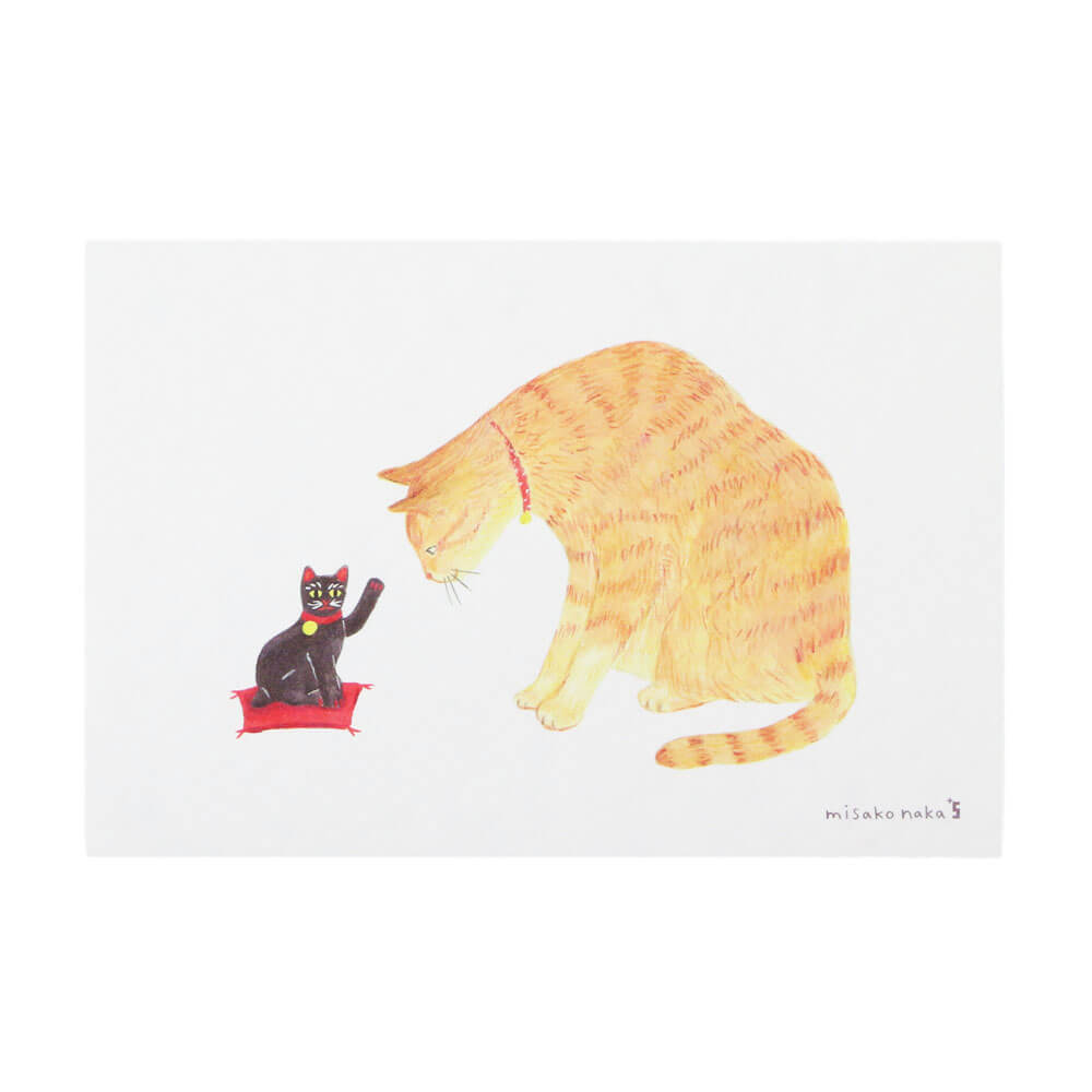 猫と今戸焼
