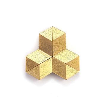 FUTAGAMI 二上 ふたがみ/箸置き「結晶」(3個入り)