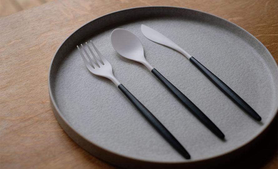 ZIKICO ジキコ/SUMU Cutlery ディナー3ピースセット・デザート3ピースセット(4種)のイメージ画像