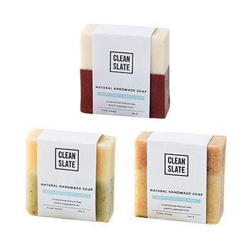 CLEAN SLATE クリーンスレート/ナチュラルハンドメイドソープ(3種)