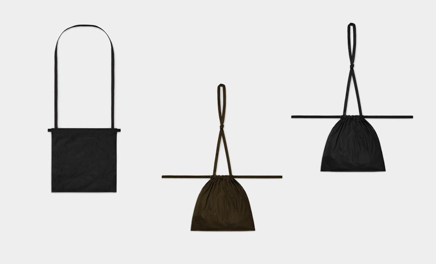 formuniform フォームユニフォーム/Drawstring Bag With Strap ストラップバッグ Sのイメージ画像