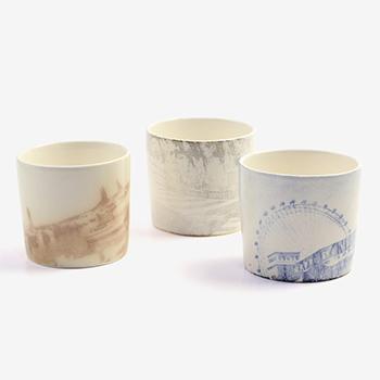 Satoko Sai+Tomoko Kurahara/カップ「city cup」(6種)