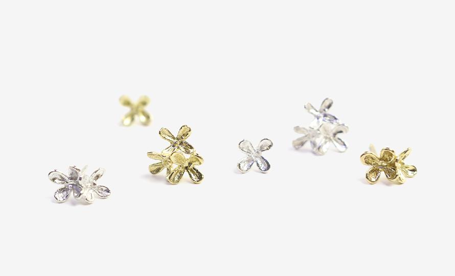 Pfutze プフッツェ/fregrant olive pierced earring キンモクセイ ギンモクセイピアス(シングル 6種)のイメージ画像