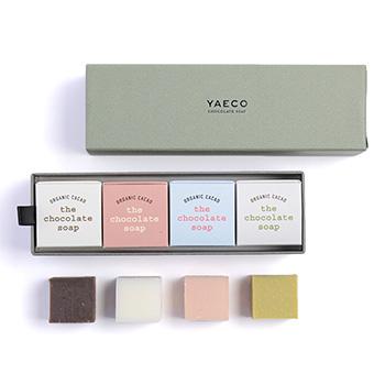 YAECO ヤエコ/Chocolate Cube Soap 4pcs チョコレート キューブソープ 4個入