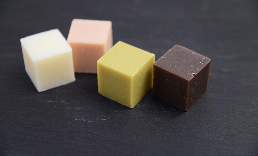 YAECO ヤエコ/Chocolate Cube Soap 4 pcs チョコレートキューブソープ 4個入のイメージ画像