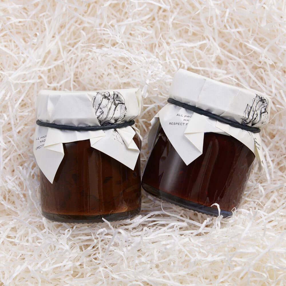 【りんご+マルメロ+ショコラ】×【フランボワーズ+ショコラ】